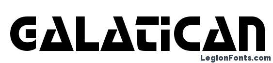 Шрифт Galatican