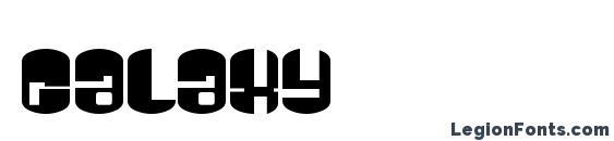 Шрифт Galaxy
