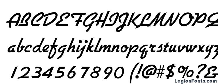 глифы шрифта Gallante Regular, символы шрифта Gallante Regular, символьная карта шрифта Gallante Regular, предварительный просмотр шрифта Gallante Regular, алфавит шрифта Gallante Regular, шрифт Gallante Regular