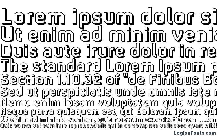 specimens Ganymede3d font, sample Ganymede3d font, an example of writing Ganymede3d font, review Ganymede3d font, preview Ganymede3d font, Ganymede3d font