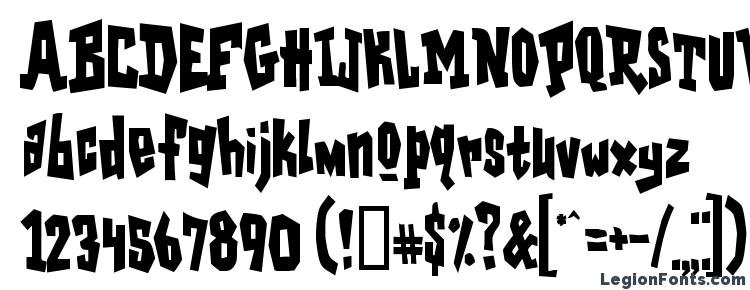 glyphs Garagesh font, сharacters Garagesh font, symbols Garagesh font, character map Garagesh font, preview Garagesh font, abc Garagesh font, Garagesh font