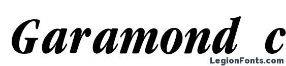 Garamond cond Bold Italic font, free Garamond cond Bold Italic font, preview Garamond cond Bold Italic font