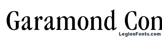 Garamond Condenced Normal Font