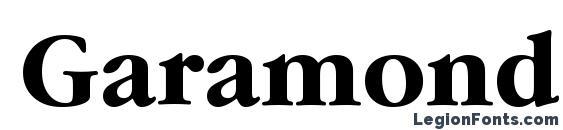 Garamond ITC Bold BT Font