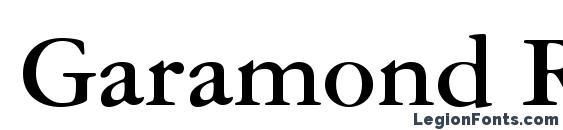 Шрифт Garamond Reprise SSi Bold
