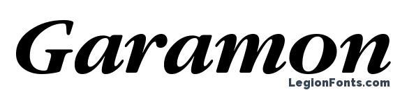шрифт GaramondGTT BoldItalic, бесплатный шрифт GaramondGTT BoldItalic, предварительный просмотр шрифта GaramondGTT BoldItalic