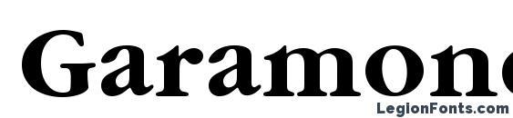 Шрифт GaramondItcTEE Bold