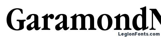 Шрифт GaramondNarrowBTT Bold