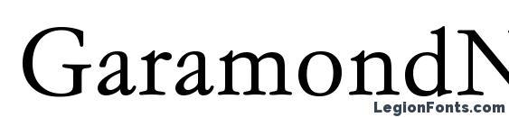 Шрифт GaramondNo4TEELig