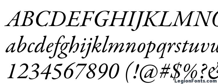 glyphs GaramondPremrPro It font, сharacters GaramondPremrPro It font, symbols GaramondPremrPro It font, character map GaramondPremrPro It font, preview GaramondPremrPro It font, abc GaramondPremrPro It font, GaramondPremrPro It font
