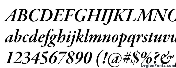 глифы шрифта Garamondpremrpro smbditsubh, символы шрифта Garamondpremrpro smbditsubh, символьная карта шрифта Garamondpremrpro smbditsubh, предварительный просмотр шрифта Garamondpremrpro smbditsubh, алфавит шрифта Garamondpremrpro smbditsubh, шрифт Garamondpremrpro smbditsubh