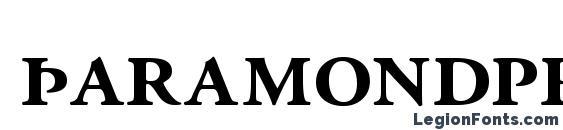 Шрифт Garamondprossk bold