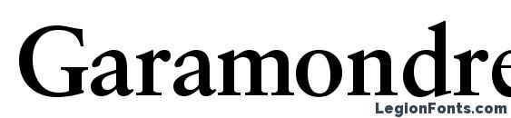 Шрифт Garamondretrospectiveosssk bold