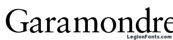 Garamondretrospectivessk Font