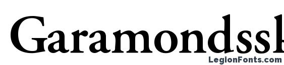Garamondssk semibold Font