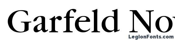 Garfeld Nova Font