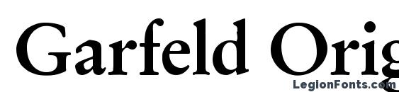 Шрифт Garfeld Original Bold