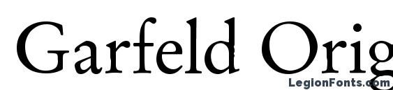 Шрифт Garfeld Original