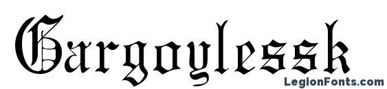 Gargoylessk Font