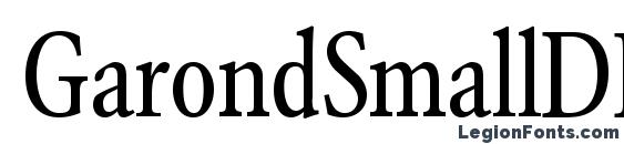 GarondSmallDB Normal font, free GarondSmallDB Normal font, preview GarondSmallDB Normal font