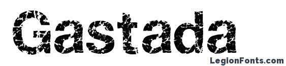 Gastada Font
