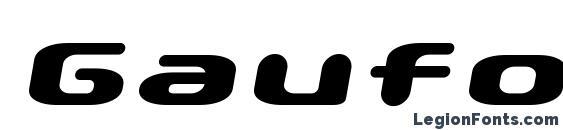 Gaufontpopmagic Font