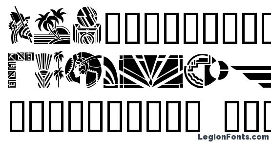 Greco deco font