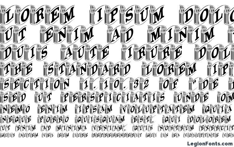 specimens GE Banners font, sample GE Banners font, an example of writing GE Banners font, review GE Banners font, preview GE Banners font, GE Banners font