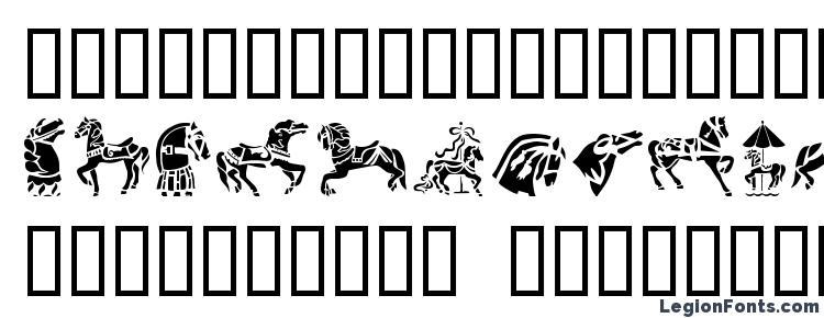 glyphs GE Carousel Horses font, сharacters GE Carousel Horses font, symbols GE Carousel Horses font, character map GE Carousel Horses font, preview GE Carousel Horses font, abc GE Carousel Horses font, GE Carousel Horses font