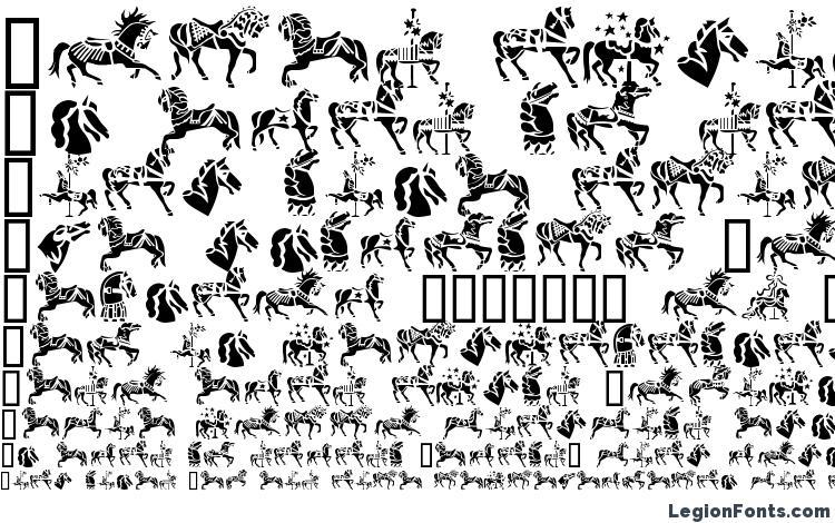 specimens GE Carousel Horses font, sample GE Carousel Horses font, an example of writing GE Carousel Horses font, review GE Carousel Horses font, preview GE Carousel Horses font, GE Carousel Horses font