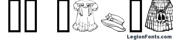 GE Clothing Font