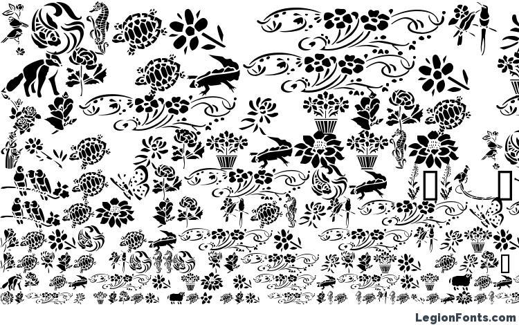 образцы шрифта GE Elements of Nature II, образец шрифта GE Elements of Nature II, пример написания шрифта GE Elements of Nature II, просмотр шрифта GE Elements of Nature II, предосмотр шрифта GE Elements of Nature II, шрифт GE Elements of Nature II