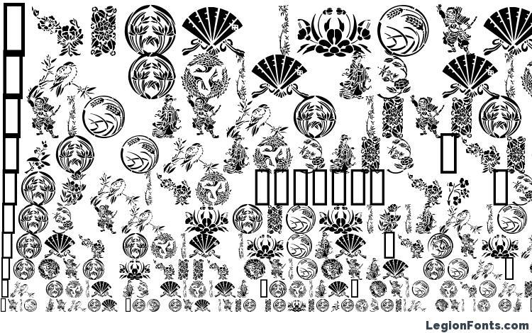 specimens GE Japanese Art font, sample GE Japanese Art font, an example of writing GE Japanese Art font, review GE Japanese Art font, preview GE Japanese Art font, GE Japanese Art font