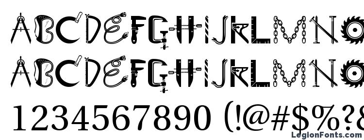 глифы шрифта GE Tooltime, символы шрифта GE Tooltime, символьная карта шрифта GE Tooltime, предварительный просмотр шрифта GE Tooltime, алфавит шрифта GE Tooltime, шрифт GE Tooltime