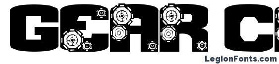 Gear Crank Font