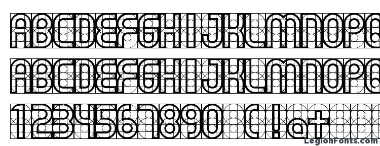 глифы шрифта Gear, символы шрифта Gear, символьная карта шрифта Gear, предварительный просмотр шрифта Gear, алфавит шрифта Gear, шрифт Gear