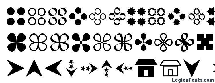 глифы шрифта Gembats 1, символы шрифта Gembats 1, символьная карта шрифта Gembats 1, предварительный просмотр шрифта Gembats 1, алфавит шрифта Gembats 1, шрифт Gembats 1