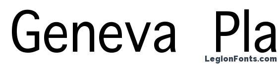 Geneva Plain.001.00190n Font
