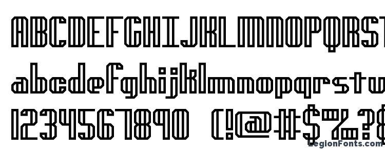 глифы шрифта Genotyph, символы шрифта Genotyph, символьная карта шрифта Genotyph, предварительный просмотр шрифта Genotyph, алфавит шрифта Genotyph, шрифт Genotyph