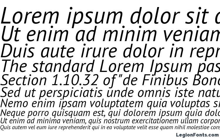 specimens Geometria Sans Italic font, sample Geometria Sans Italic font, an example of writing Geometria Sans Italic font, review Geometria Sans Italic font, preview Geometria Sans Italic font, Geometria Sans Italic font
