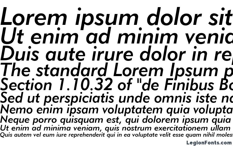 specimens Geometric 415 Medium Italic BT font, sample Geometric 415 Medium Italic BT font, an example of writing Geometric 415 Medium Italic BT font, review Geometric 415 Medium Italic BT font, preview Geometric 415 Medium Italic BT font, Geometric 415 Medium Italic BT font