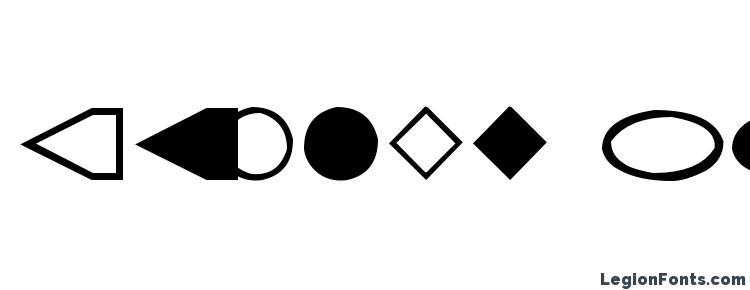 глифы шрифта Geometrics, символы шрифта Geometrics, символьная карта шрифта Geometrics, предварительный просмотр шрифта Geometrics, алфавит шрифта Geometrics, шрифт Geometrics