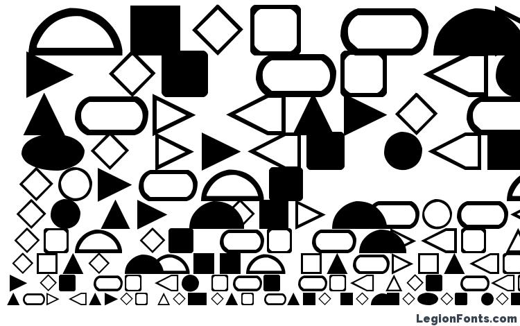 specimens Geometrics font, sample Geometrics font, an example of writing Geometrics font, review Geometrics font, preview Geometrics font, Geometrics font