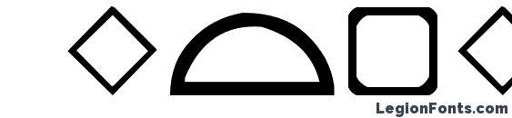 Шрифт Geometrics
