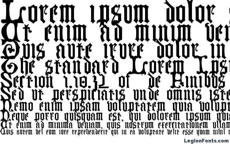 specimens Germanblackletters font, sample Germanblackletters font, an example of writing Germanblackletters font, review Germanblackletters font, preview Germanblackletters font, Germanblackletters font