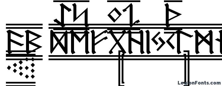 глифы шрифта Germanic Runes 2, символы шрифта Germanic Runes 2, символьная карта шрифта Germanic Runes 2, предварительный просмотр шрифта Germanic Runes 2, алфавит шрифта Germanic Runes 2, шрифт Germanic Runes 2