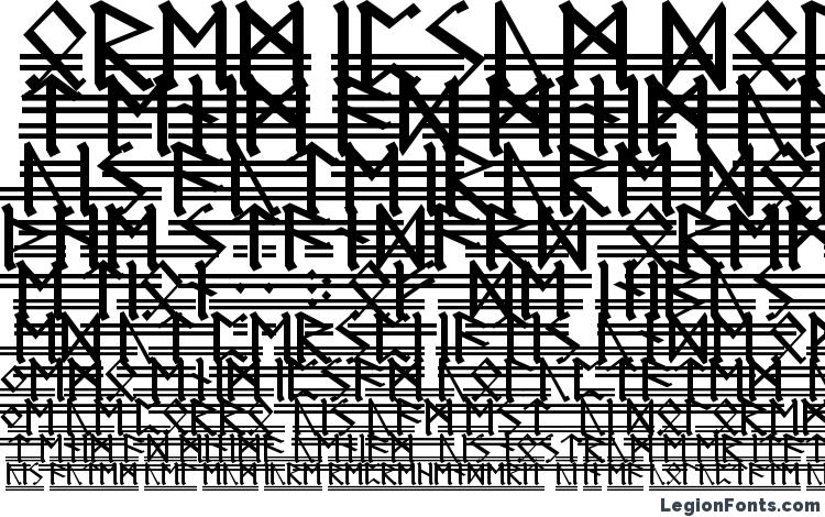 specimens Germanic Runes 2 font, sample Germanic Runes 2 font, an example of writing Germanic Runes 2 font, review Germanic Runes 2 font, preview Germanic Runes 2 font, Germanic Runes 2 font