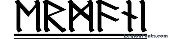 Шрифт Germanic Runes 2