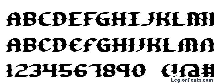 глифы шрифта Gesture BRK, символы шрифта Gesture BRK, символьная карта шрифта Gesture BRK, предварительный просмотр шрифта Gesture BRK, алфавит шрифта Gesture BRK, шрифт Gesture BRK