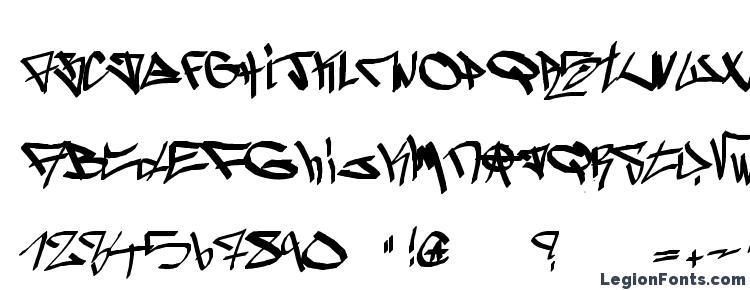 glyphs ghetto blasterz font, сharacters ghetto blasterz font, symbols ghetto blasterz font, character map ghetto blasterz font, preview ghetto blasterz font, abc ghetto blasterz font, ghetto blasterz font